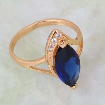 Kék köves gyűrű  18mm es