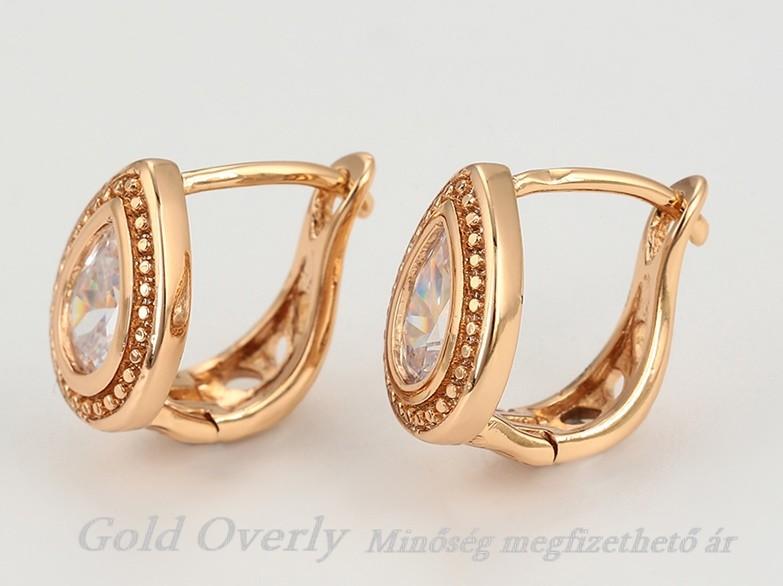 0426edd49f Antiallergén fülbevaló 12 mm es átmérőjű - Gold Overly Antiallergén ...