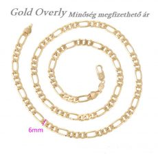 Gold Overly Unisex nyaklánc 18k