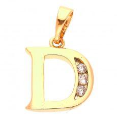 D betű medál