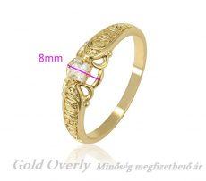 Gold Overly 21 mm es belső átmérőjű gyűrű