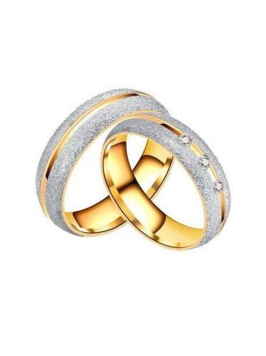 Karikagyűrű Mery gold Női 17  mm es