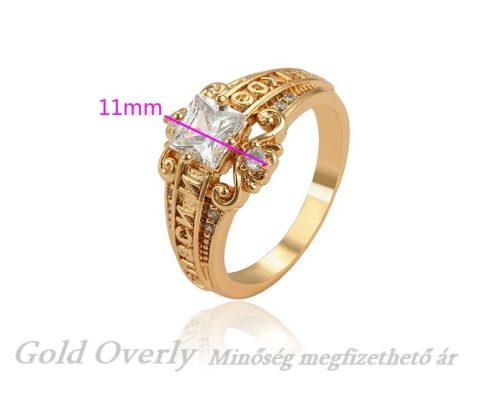 Női köves gyűrű 66 os méret