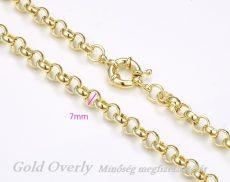 Gold Overly nyaklánc fémérzékenyeknek is