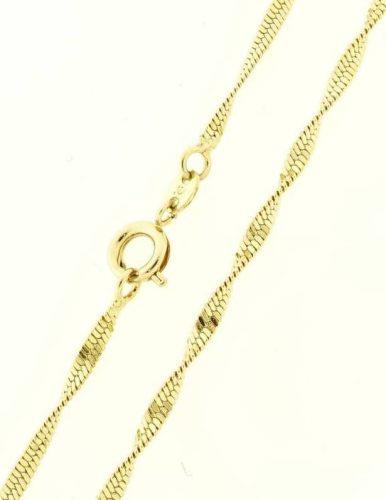 18 k arany színű  sodrott nyaklánc
