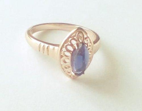 Gold Overly 20 mm es belső átmérőjű gyűrű