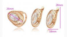 Gold Overly szett 18 mm es gyűrűvel
