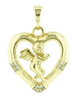 Gold angyalkás medál