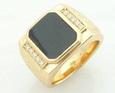 Pecsétgyűrű Gold Overly 59 es méret