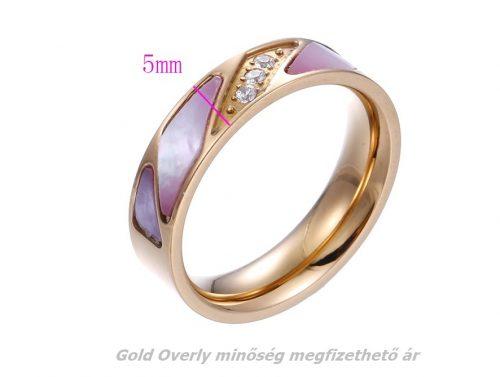 Kerámia betétes karikagyűrű 19  mm es