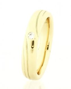 Köves női karikagyűrű
