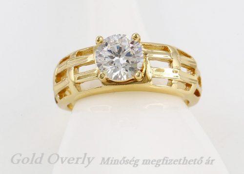 Gold Overly gyűrű 15 mm es belső átmérőjű
