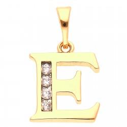 E betű medál