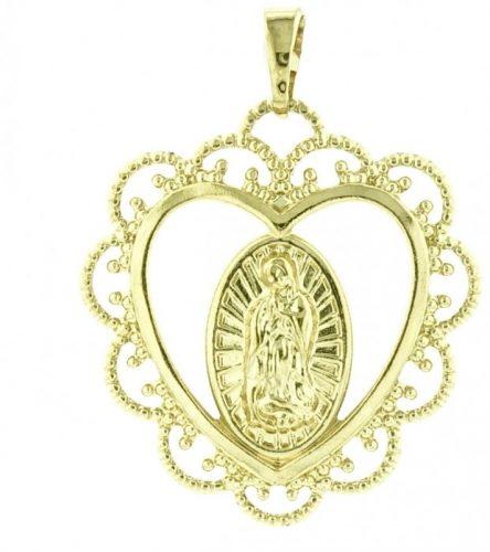 18 k arany színű szent medál