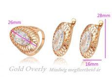 Gold Overly szett 21 mm es gyűrűvel