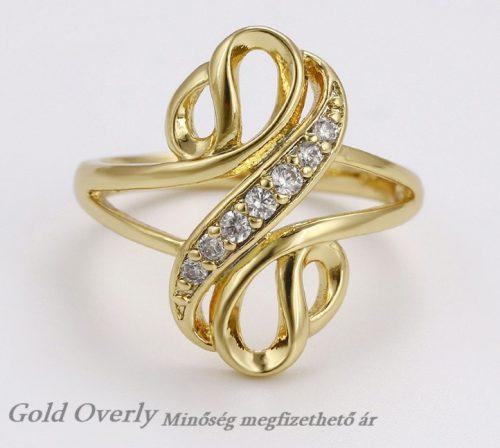 Női köves gyűrű 61 es méret