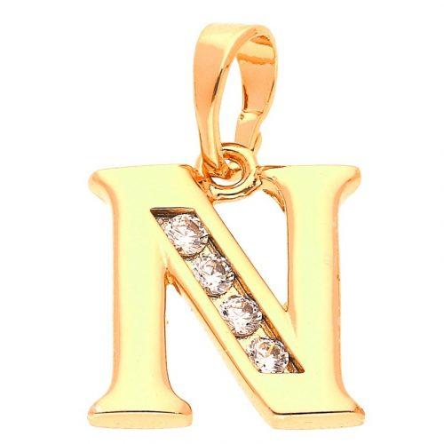 N betű medál