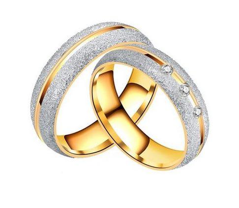 Karikagyűrű Mery gold Férfi 21 mm es
