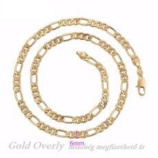 Antiallergén Gold Overly ékszer