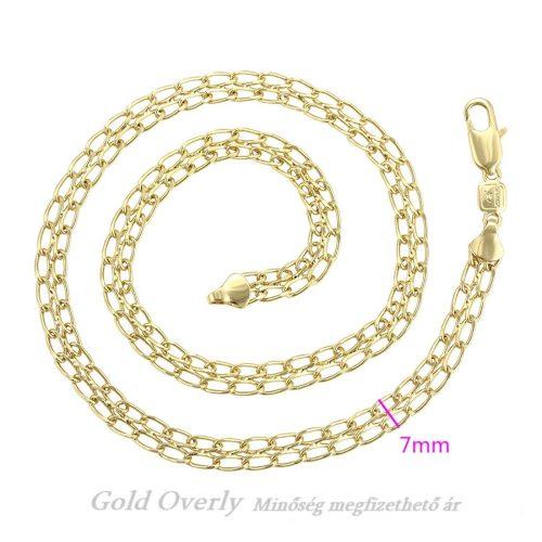 Gold Overly nyaklánc fémérzékenyeknek