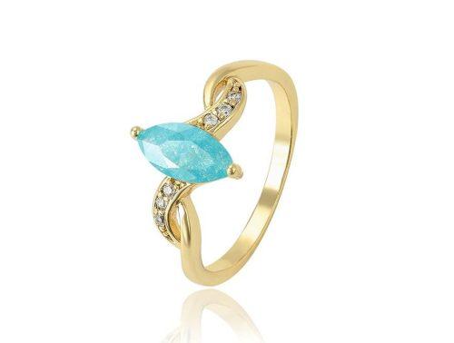 Gold Ovrerly gyűrű 19 mm
