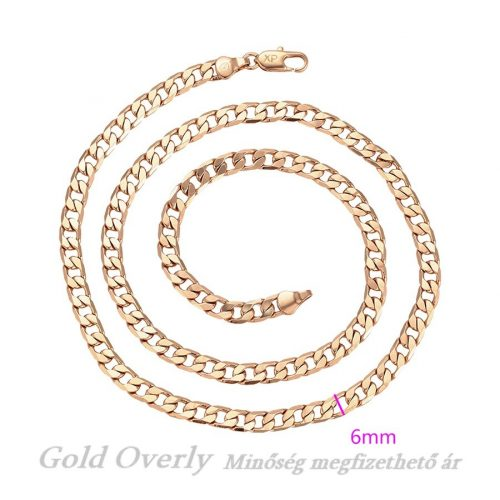 Unisex nyaklánc Gold Overly minőség