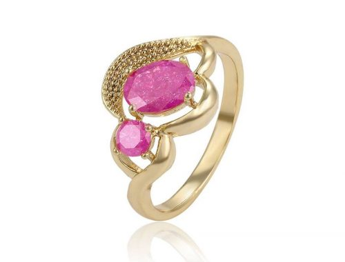 köves Gold Overly gyűrű 18mm